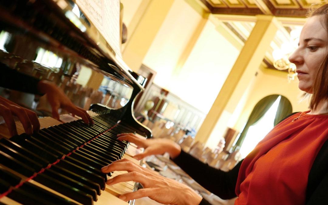 Sophie Auerbach, Pianistin des ensemble leipziger salon