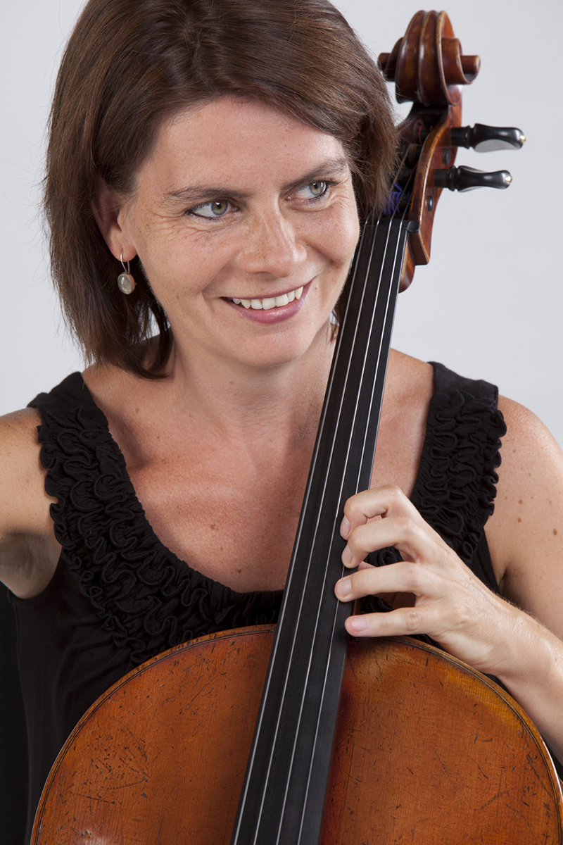 Andrea László, Cellistin des ensemble leipziger salon